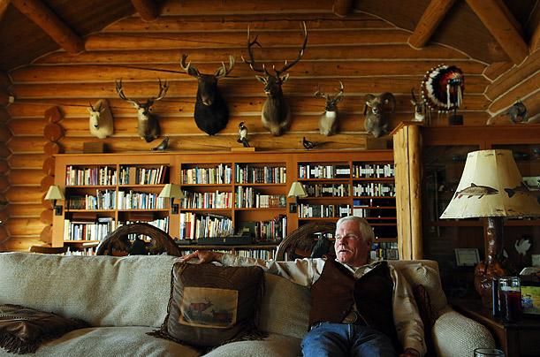 თედ თერნერი თავის საზაფხულო სახლში