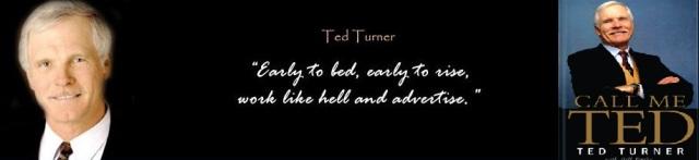 თედ თერნერის სამოტივაციო სიტყვები და წიგნი Call Me Ted