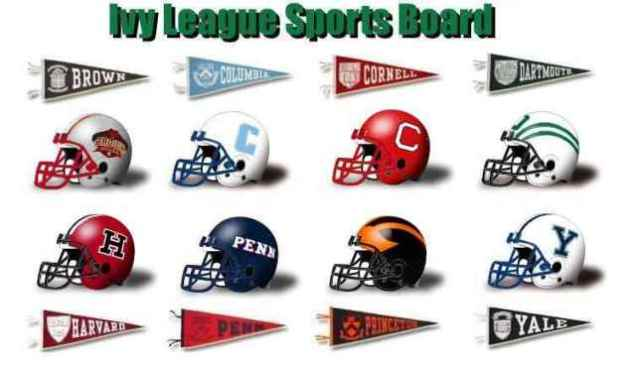 ivy-league-football-helmets