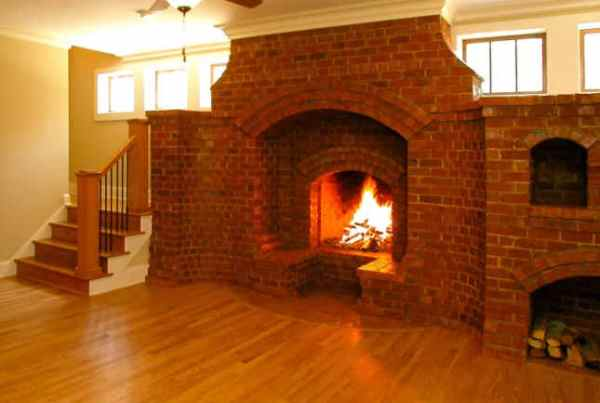 brick-fireplace