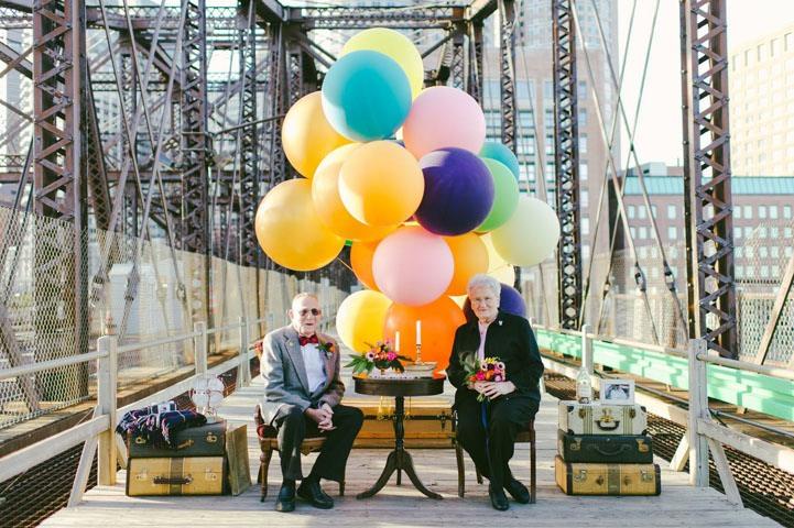 Up-ით შთაგონებული ქორწინების 61-ე წლისთავი
