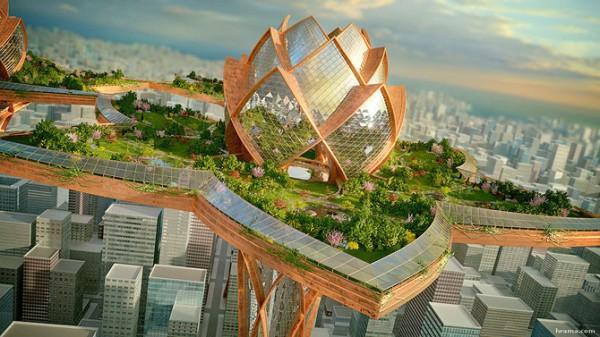 ქალაქი ცაში – ბულგარელი არქიტექტორის მომავლის სამყარო