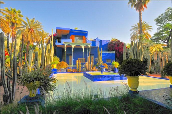 ჟარდინ მაჟურილი – ლურჯი ბაღი მაროკოში